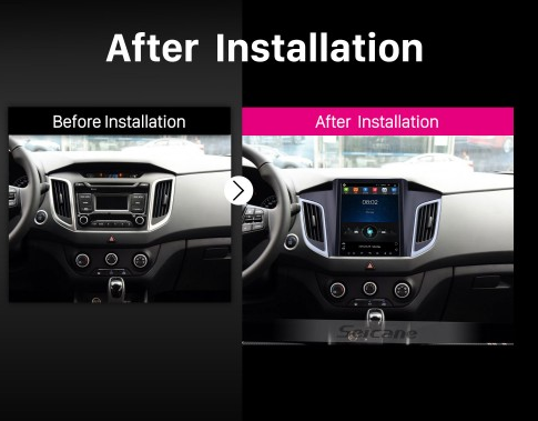 2014 2015 Hyundai IX25 Car Stereo after installation